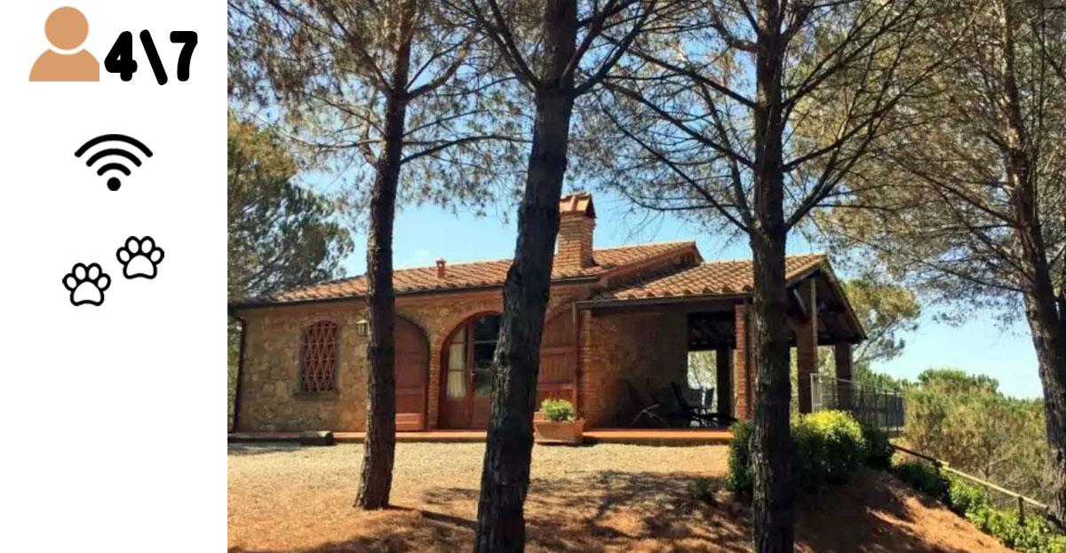 My Toscana Blog - Riparbella Cottage La Pinetina